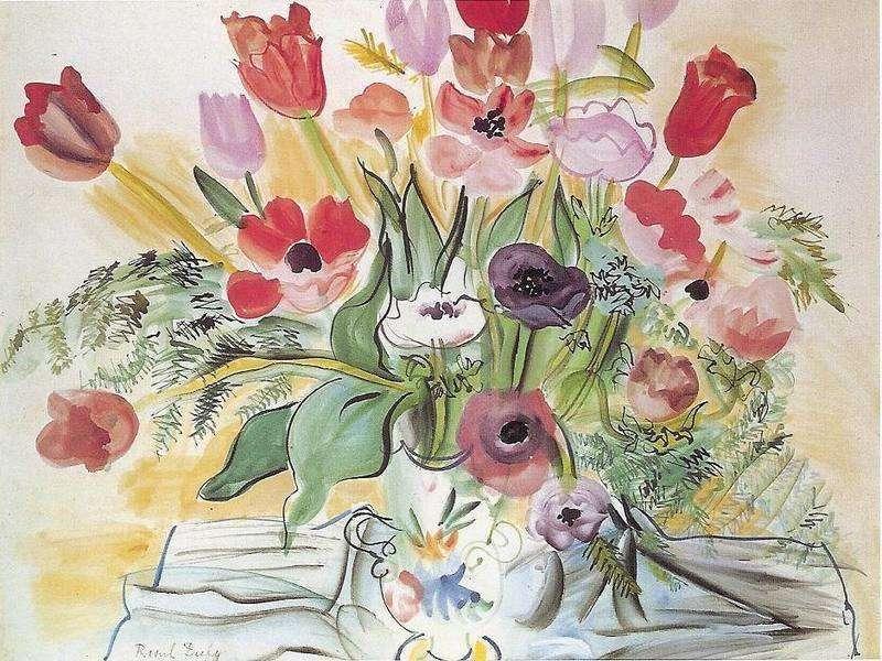 Anemones   Raoul Dufy