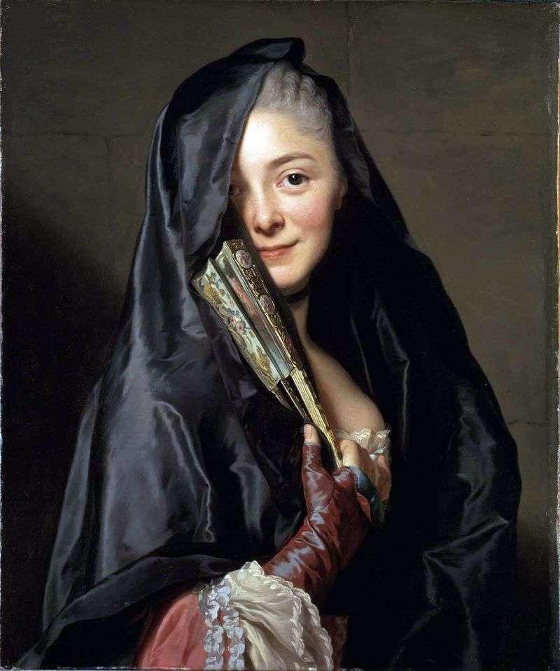 Dama z zasłoną   Alexander Roslin