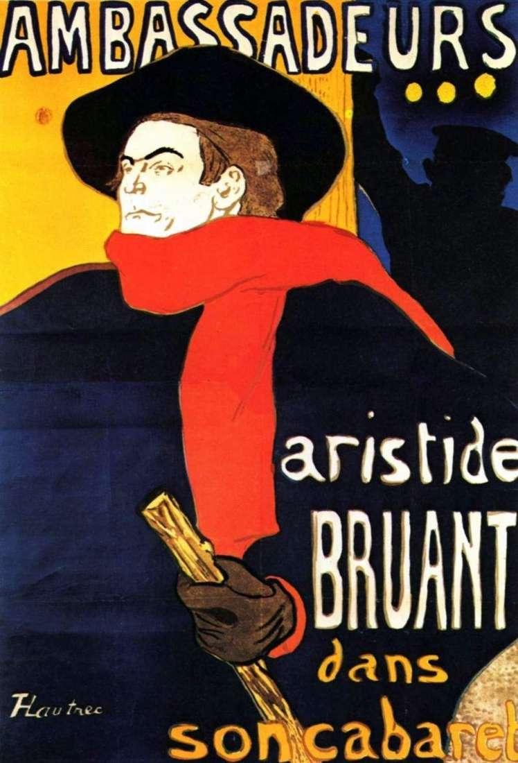 Aristide Bruand w Ambassador   Henri de Toulouse Lautrec
