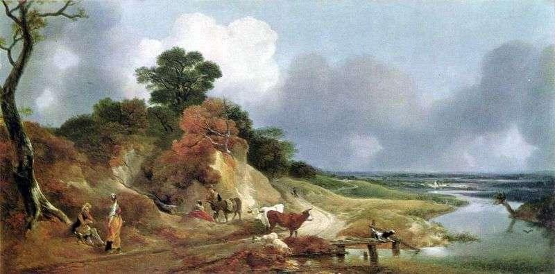 Widok w pobliżu wsi Cornard   Thomas Gainsborough