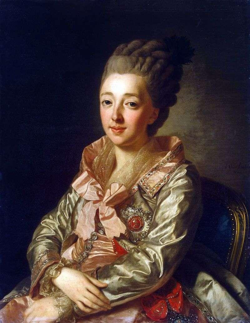 Portret Wielkiej Księżnej Natalii Alekseevny   Aleksandra Roslina