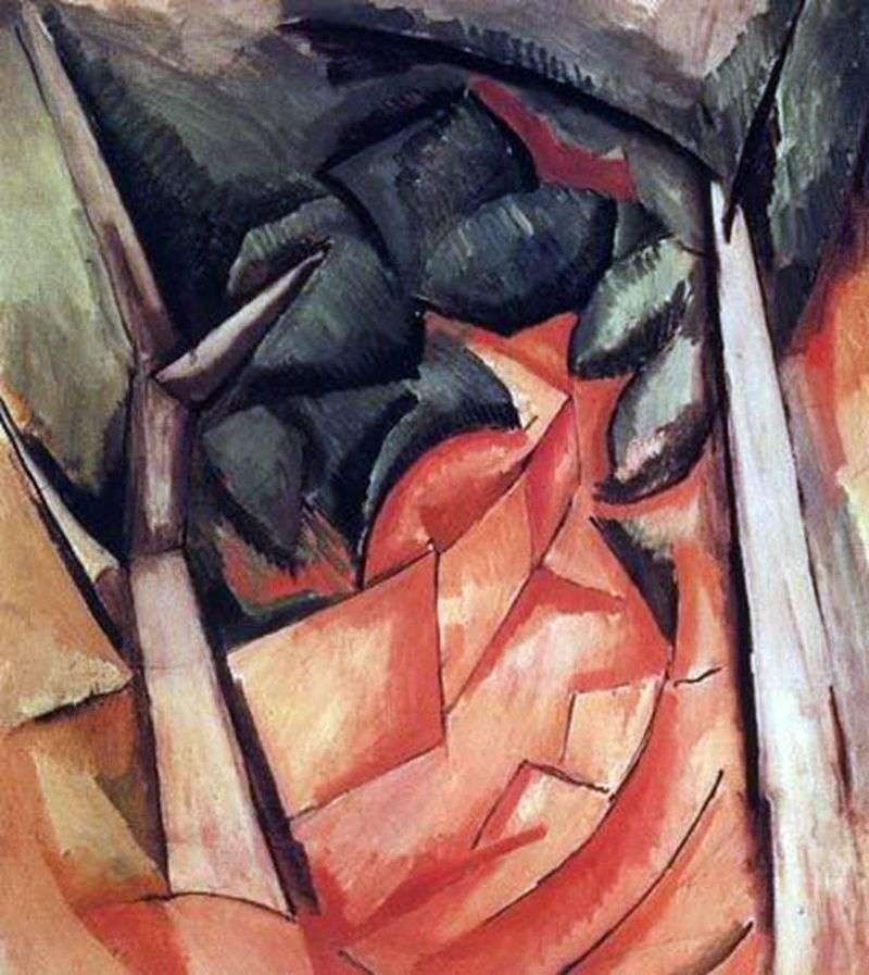 Drzewa w Estak   Raoul Dufy