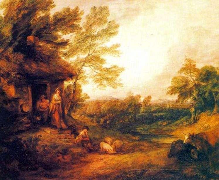 Dom z prosiętami   Thomas Gainsborough