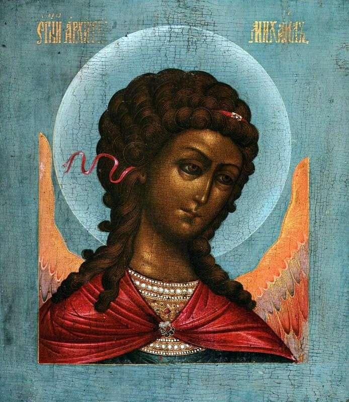 Archanioł Michał, z rangi Deesis