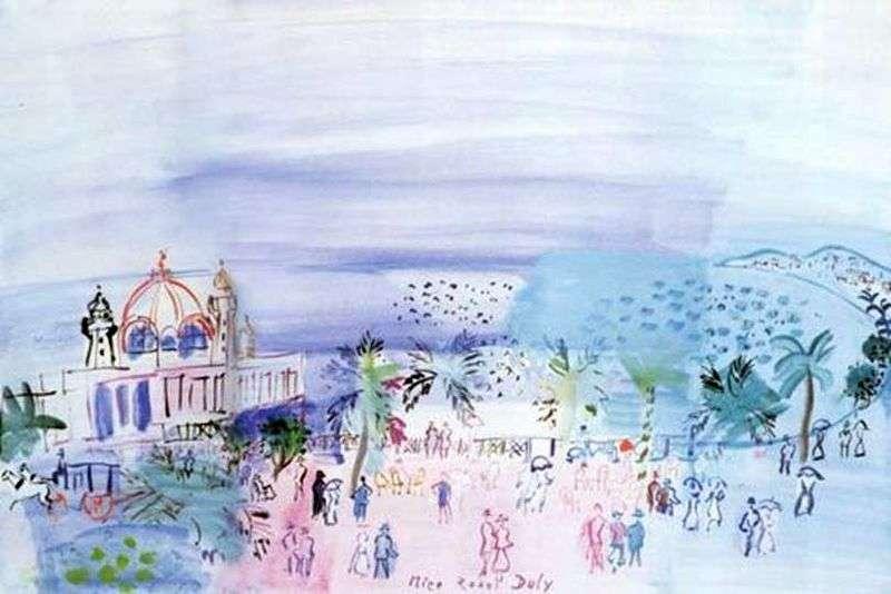 Kasyno w Nicei   Raoul Dufy