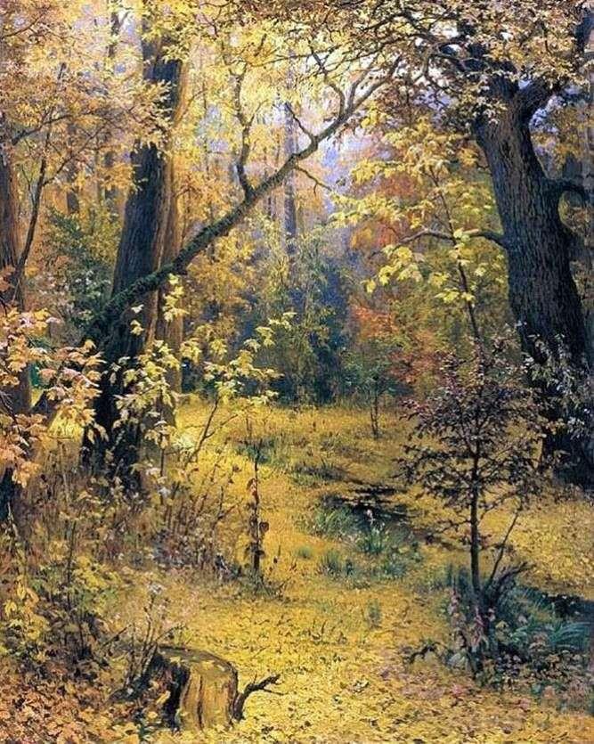 Jesienny poranek   Grigorij Myasojedow
