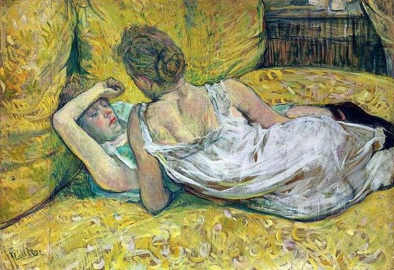Dwaj przyjaciele   Henri de Toulouse Lautrec