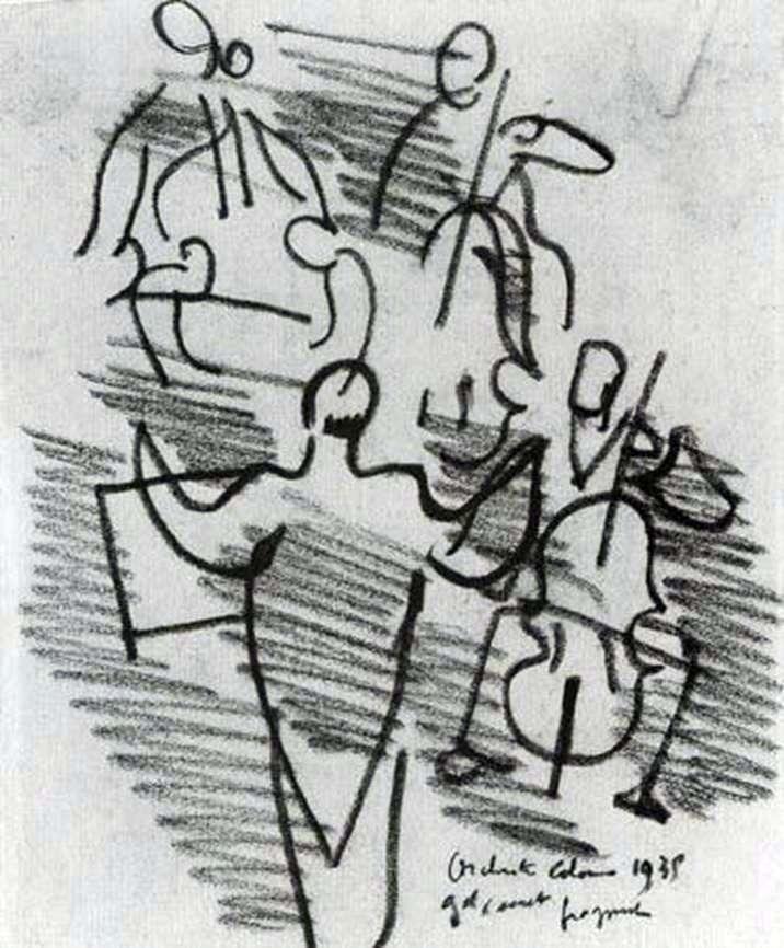 Orkiestra   Raoul Dufy