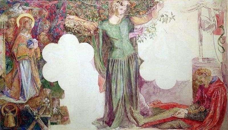 Wizja Sir Lancelota   Dante Rossetti