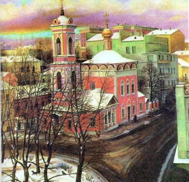 Kościół Wniebowstąpienia na Nezdanovie   Tatyana Nazarenko