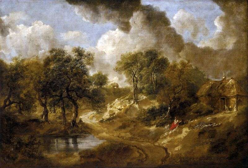 Krajobraz w Suffolk   Thomas Gainsborough
