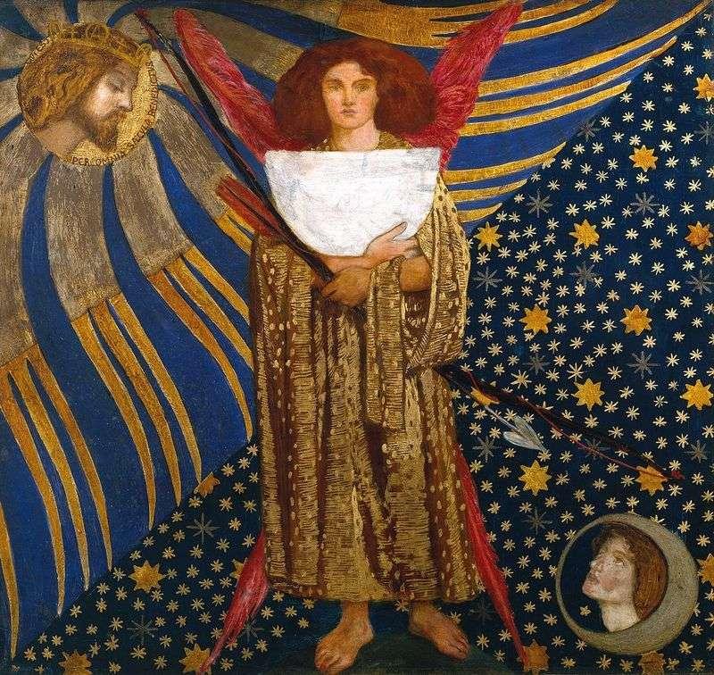 Miłość Dantego   Dante Rossetti