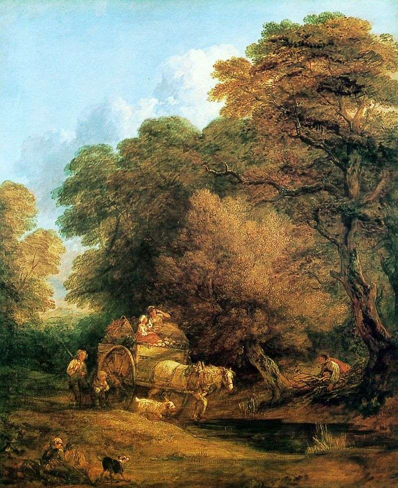 Kareta idzie na targi   Thomas Gainsborough