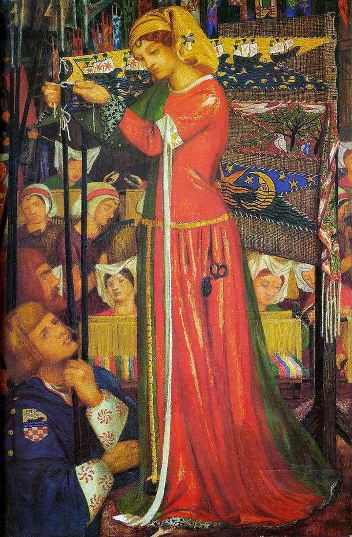 Przed bitwą   Dante Gabriel Rossetti
