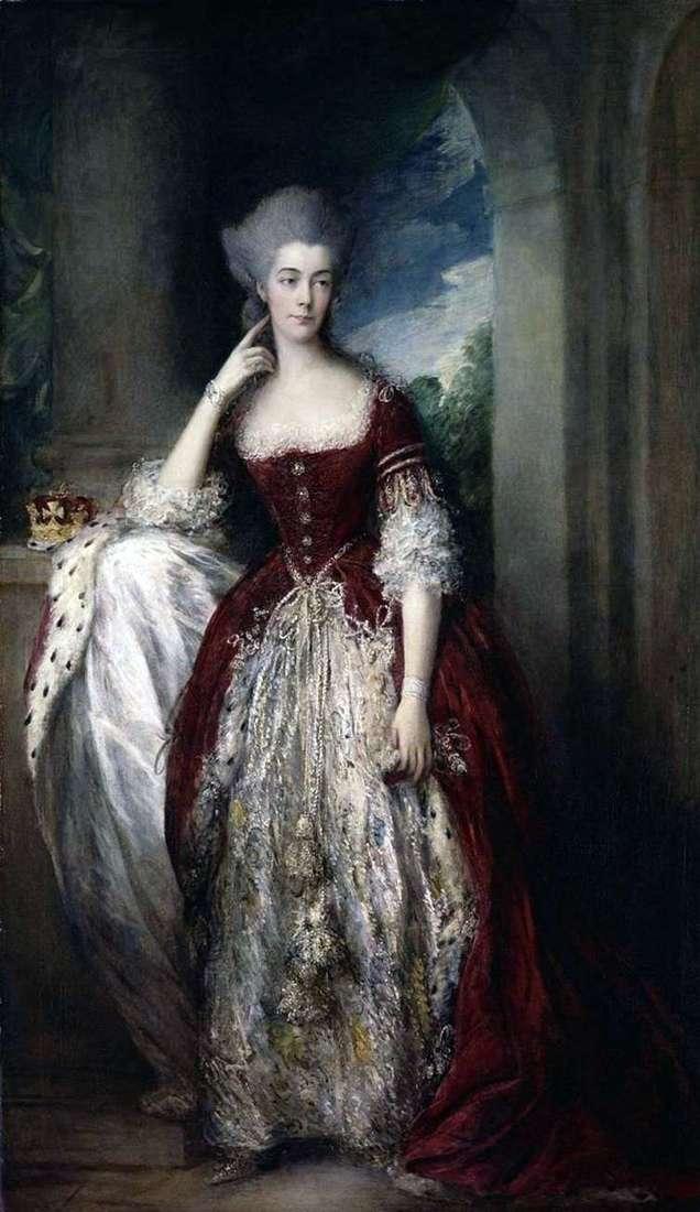 Portret Anne, Duchess of Cumberland i Stretham   Thomas Gainsborough