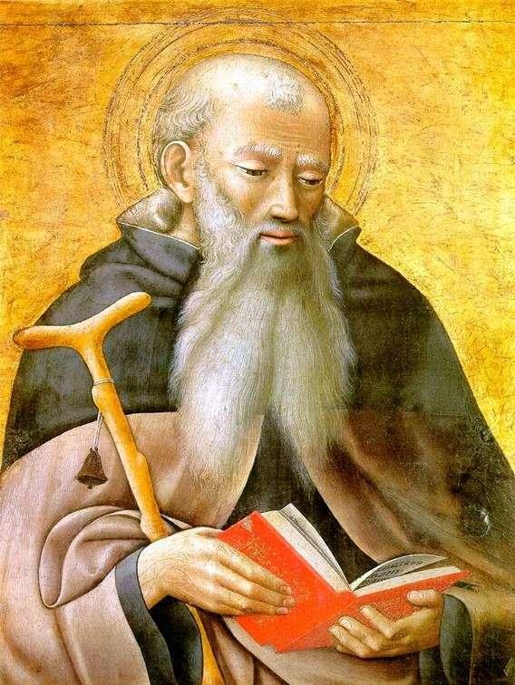 Święty Antoni   Mistrz tryptyku Observano