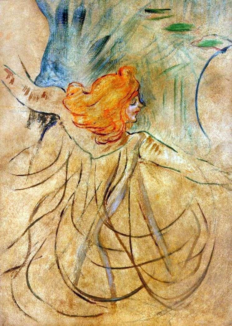 Loy Fuller   Henri de Toulouse Lautrec