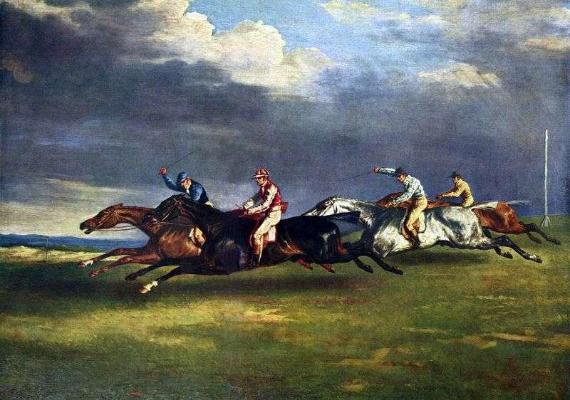 Derby w Epsom   Theodore Gericault