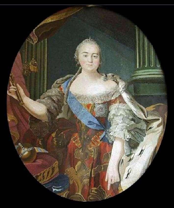 Portret Elizabeth Petrovna