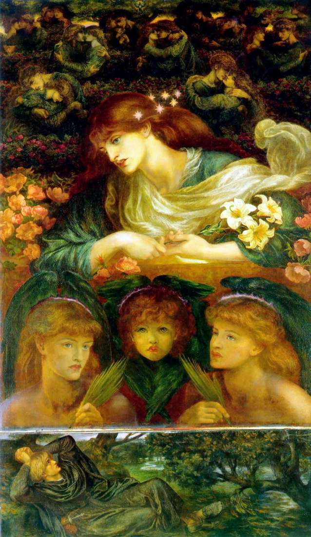 Święta Dziewica   Dante Rossetti