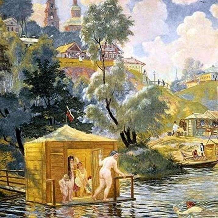 Kąpiel   Boris Kustodiew