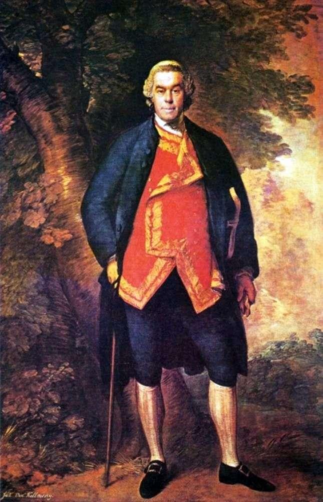 Portret Johna Kilmorey   Thomas Gainsborough