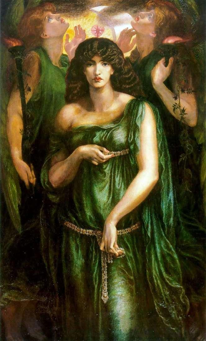 Syrian Astarta   Dante Rossetti