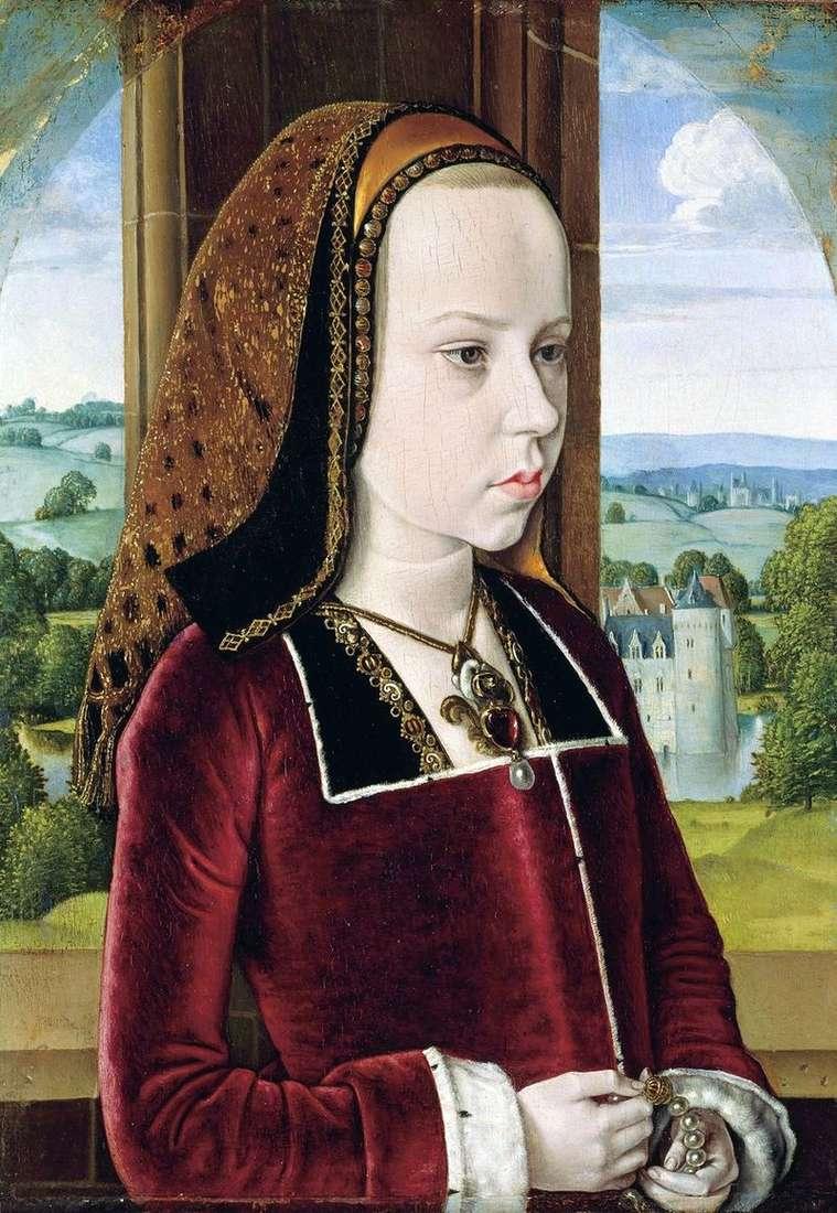 Portret księżniczki   Master of Moulin