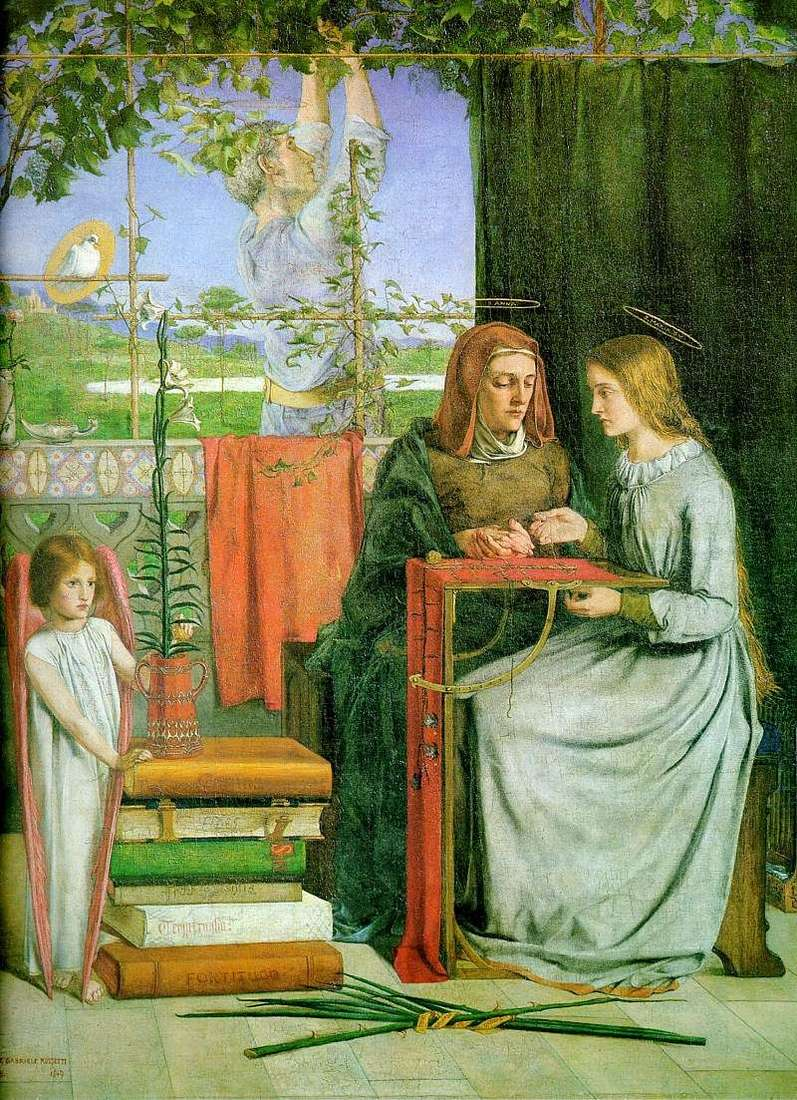 Marias Youth   Dante Rossetti