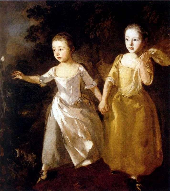 Portret córek artysty   Thomas Gainsborough