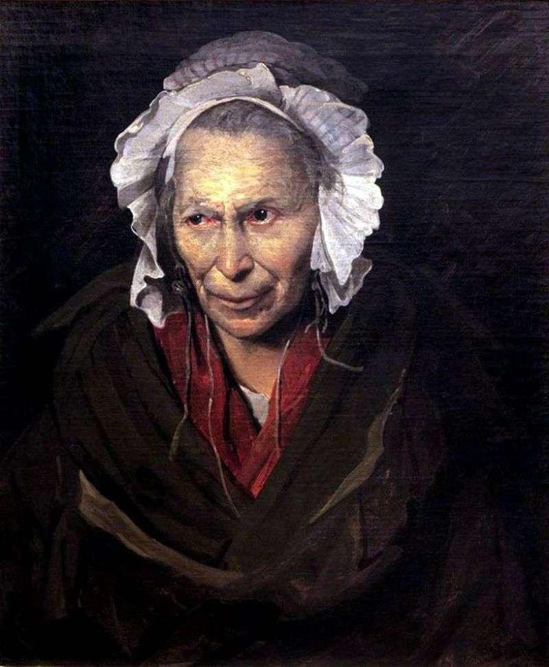 Portret szaleńca   Theodore Gericault