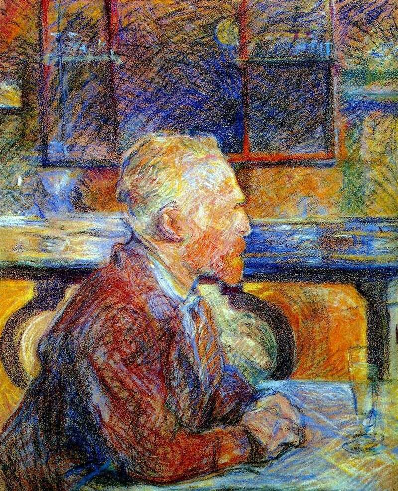Portret Vincenta van Gogha   Henri de Toulouse Lautrec