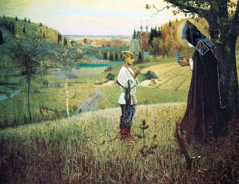 Wizja młodego Bartłomieja   Michaiła Niestierowa