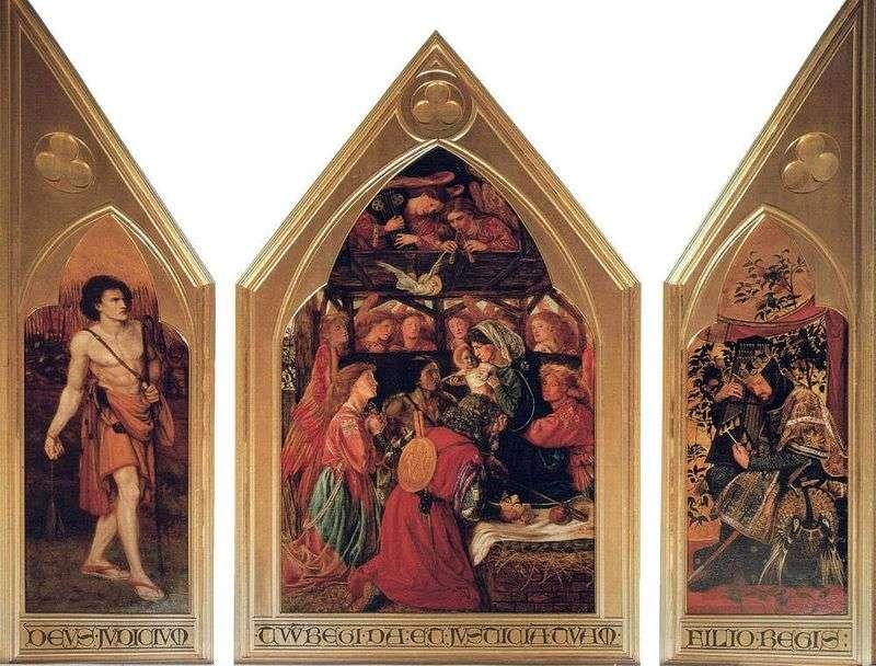 Adoracja Niemowląt (Dawid Seed)   William Michael Rossetti
