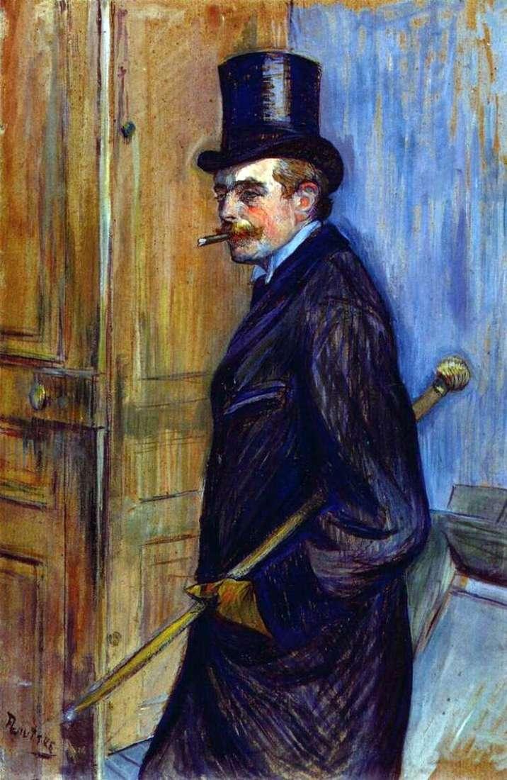 Portret Ludwika Pascala   Henri de Toulouse Lautrec