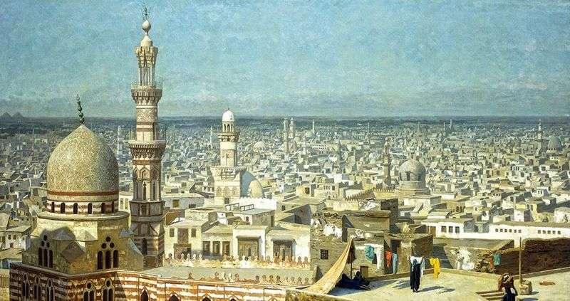 Widok z Kairu   Jean Leon Gerome