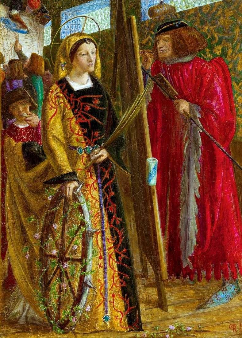 Święta Katarzyna   William Michael Rossetti