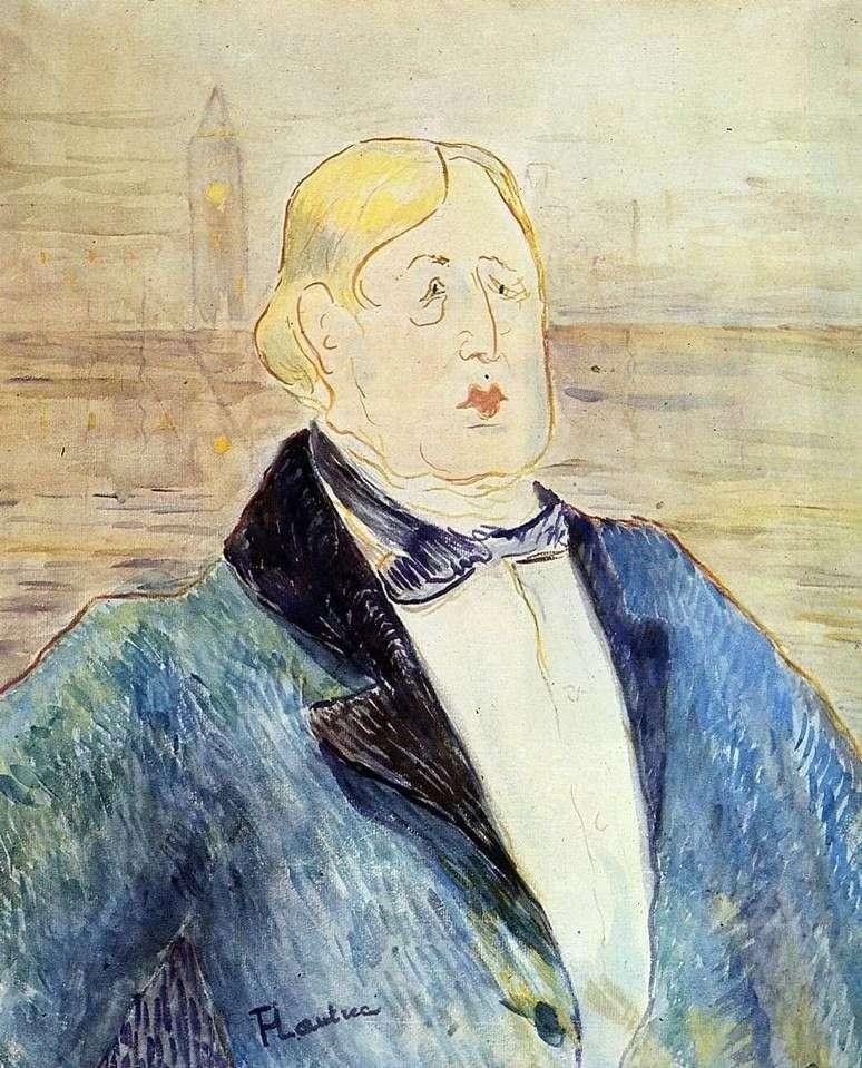 Portret Oscara Wilde   Henri de Toulouse Lautrec