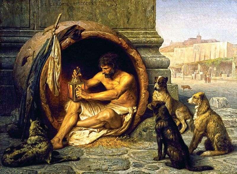 Diogenes   Jean Leon Jerome