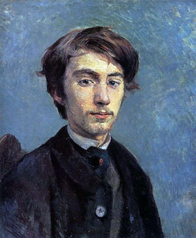 Portret Emila Bernarda   Henri de Toulouse Lautrec