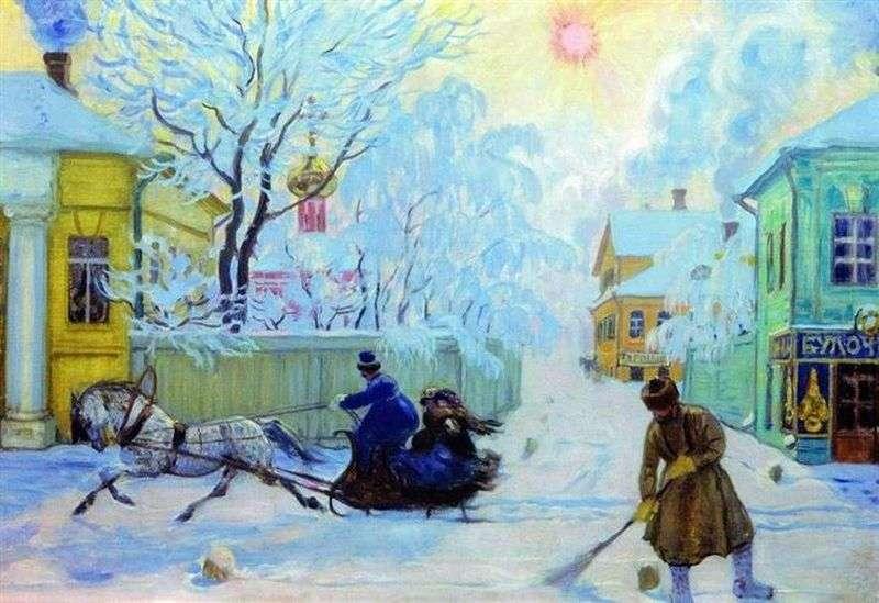 Frosty Day     Boris Kustodiev