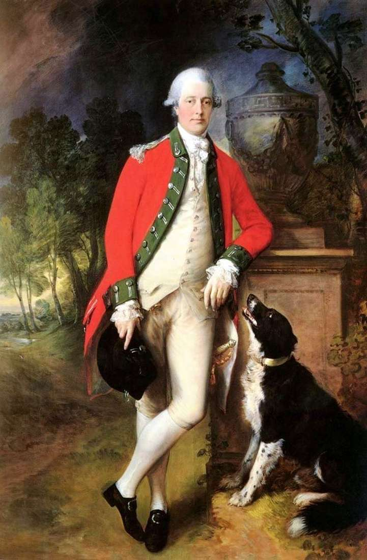 Portret pułkownika Johna Bullocka   Thomasa Gainsborougha