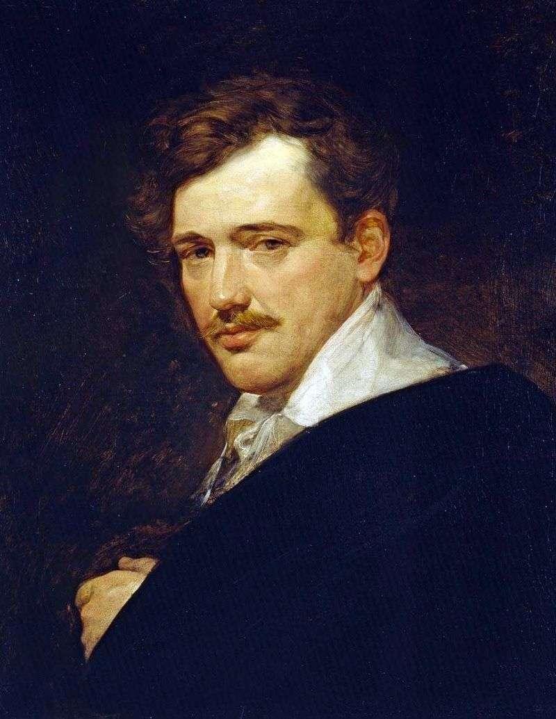 Portret A. N. Lwowa   Karl Bryullov