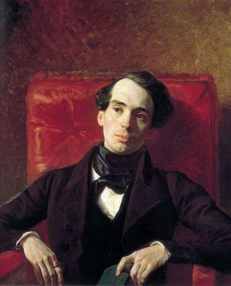 Portret A. N. Strugovshchikov   Karl Bryullov
