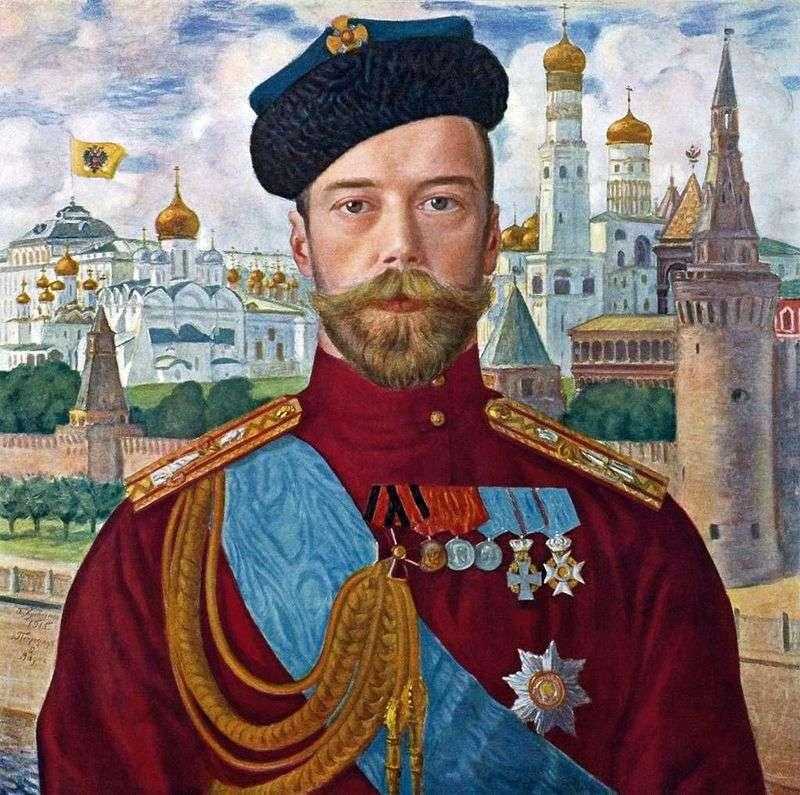 Nicholas II   Boris Kustodiev