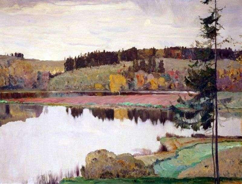 Jesienny krajobraz   Michaił Niestierow