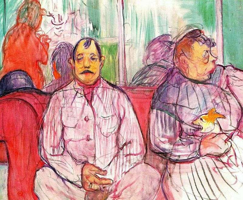 Strażnik faworytów   Henri de Toulouse Lautrec