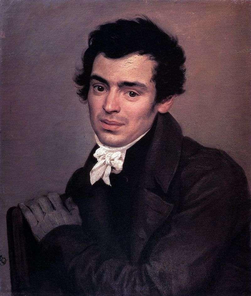 Portret architekta K. A. Ton   Karl Bryullov