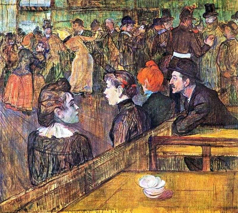 Sala balowa w Moulin de la Galette   Henri de Toulouse Lautrec