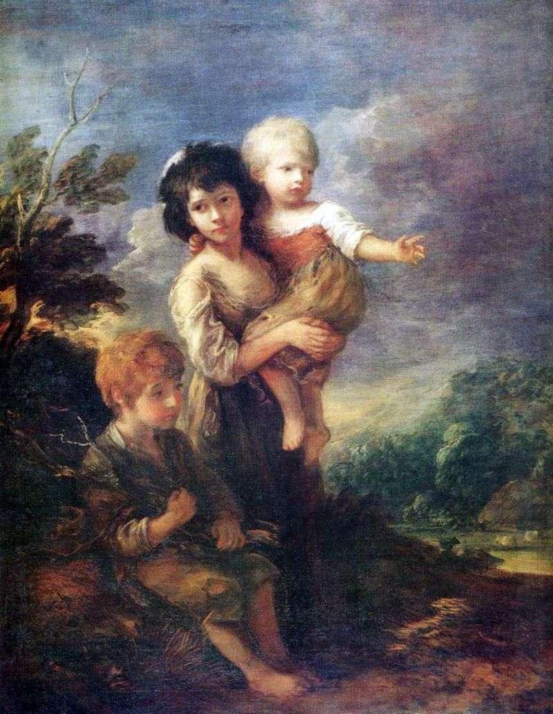 Zbieracze Szczotków   Thomas Gainsborough